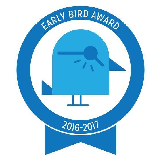 Early Bird Award 2016-2017