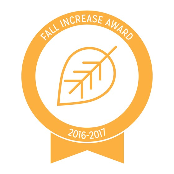 Fall Increase Award