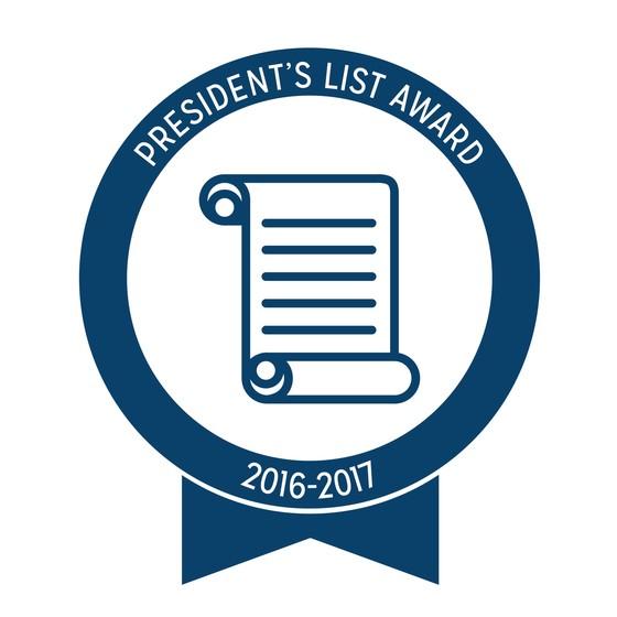 Texas PTA President's List 2016-2017