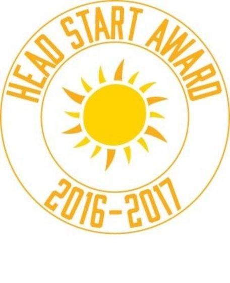Texas PTA Head Start Award 2016-2017